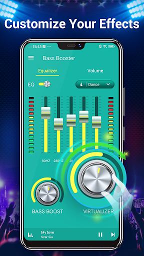 Equalizer -- Bass Booster & Volume EQ &Virtualizer 1.5.3 Screenshots 4