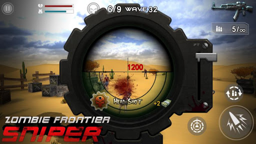 Télécharger Gratuit Zombie Frontier : Sniper APK MOD (Astuce) screenshots 1