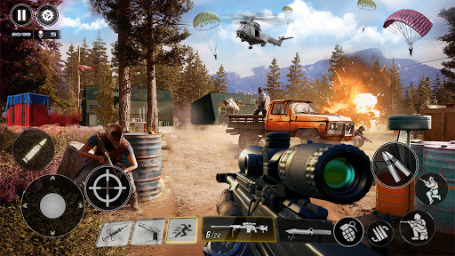 Real Commando Mission Game: Real Gun Shooter Games  screenshots 11