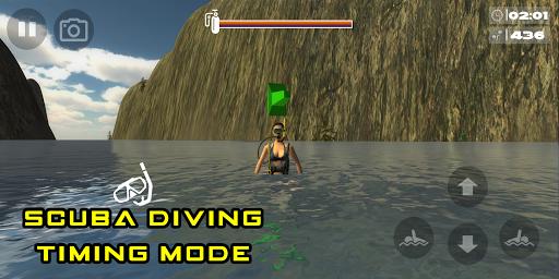Scuba Dive Game - Underwater hunting game Apk 1.11 screenshots 2