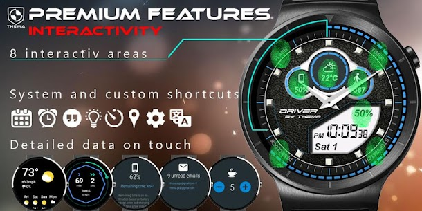 Driver Watch Face v1.21.03.1018 (Paid) 5