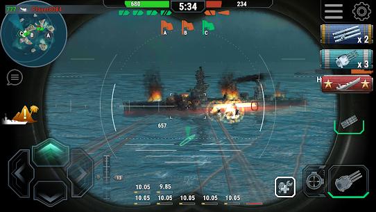 Warships Universe: Naval Battle Mod Apk 0.8.2 (Mod Banknotes/Diamonds) 3