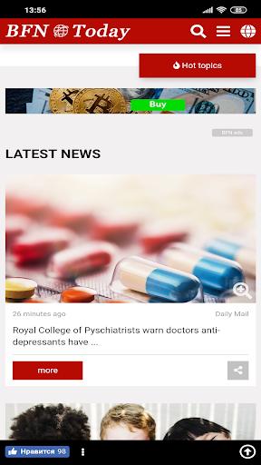 BFN Breaking Flash News! 1.0.2 screenshots 2