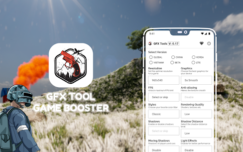 GFX Tools  & Game Booster Graphics Toolkit 1