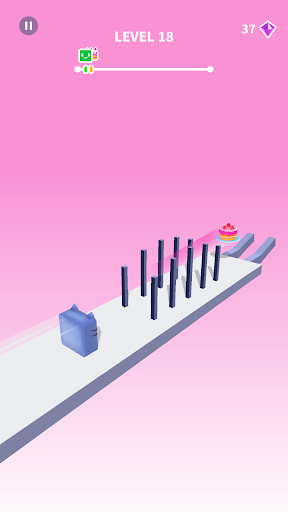 Jelly Shift - Obstacle Course Game apktram screenshots 2