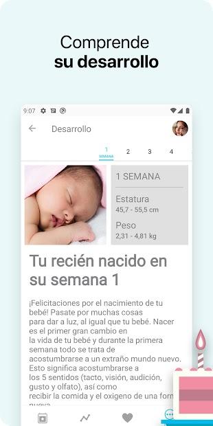 Imágen 6 de Bebé + - La app de seguimiento para tu bebé para android