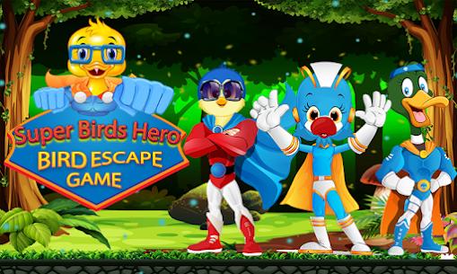 Jungle Adventure Game for Kids – SuperHero Birds Game APP 2