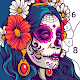 Skull Coloring Book - Color by Number Paint Games para PC Windows