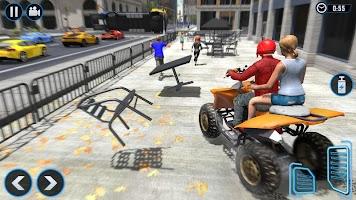 ATV Quad Bike Simulator 2020: Bike Taxi Games