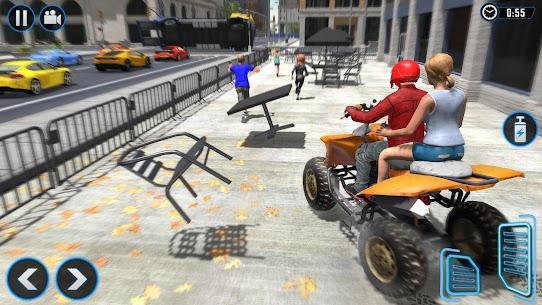 ATV Quad Bike Simulator 2021: Bike Taxi Games 2