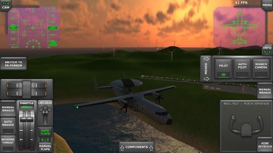 Turboprop Flight Simulator 3D MOD APK 1.26.2 (Unlimited Money) 6