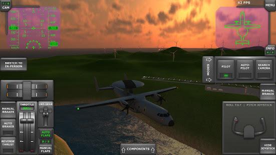 Turboprop Flight Simulator 3D Mod Apk