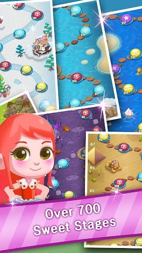 Candy Sweet Pop  : Cake Swap Match 1.6.8 screenshots 15