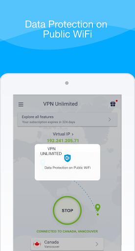 VPN Unlimited - Free VPN Proxy Shield 8.4 Screenshots 14