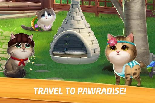 Meow Match: Cats Matching 3 Puzzle & Ball Blast  screenshots 1