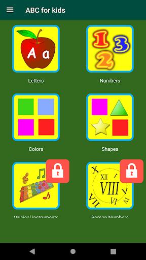 ABC Kids Learn Alphabet Game 4.2.1093 screenshots 1
