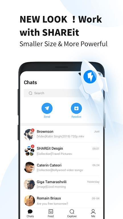 SHAREit Lite - Share & File Transfer App, Share it  poster 0