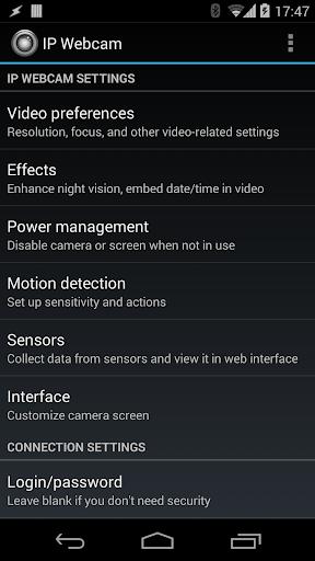 IP Webcam  Screenshots 1