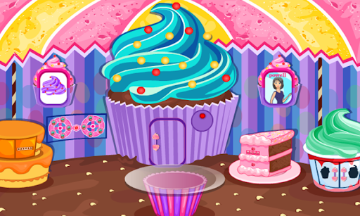 Escape Games-Cupcake Rooms  screenshots 2