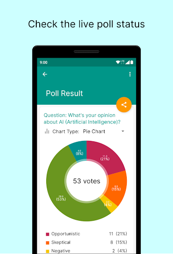 Foto do Pollscape - Poll in real-time