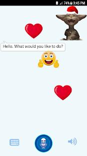 Funny Talking Cat