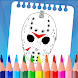 Coloring Game For Friday The 13th - Androidアプリ