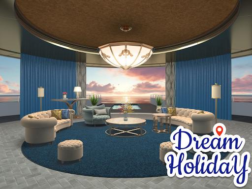 Dream Holiday - Travel home design game apkdebit screenshots 3
