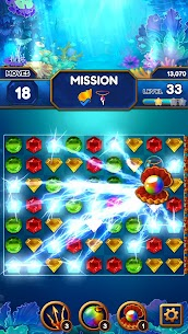 Under the Deep Sea: Jewel Match3 Puzzle 7
