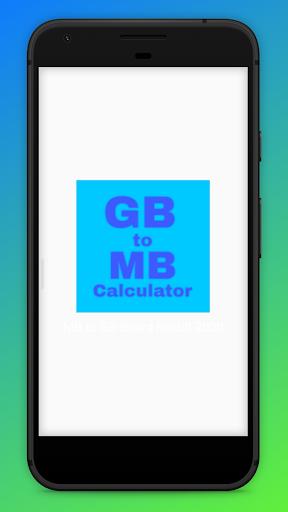Mb to Gb Converter calculator 1.0.5 screenshots 1
