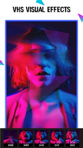 Glitch Video Effect-  Photo Effects 1.0.8 Screenshots 9