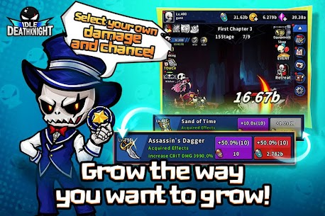 IDLE Death Knight MOD Apk 1.2.12315 (Unlimited Money) 5