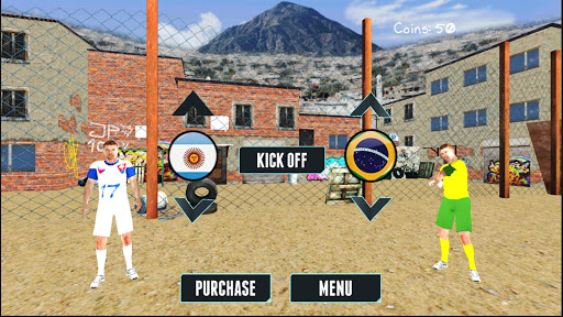 Street Football Match Cup Apkfinish screenshots 1