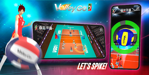 Volleyball: VolleyGo apkslow screenshots 1