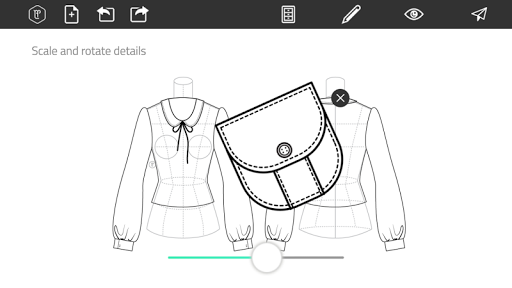 Fashion Design Flat Sketch 1.0 Screenshots 4