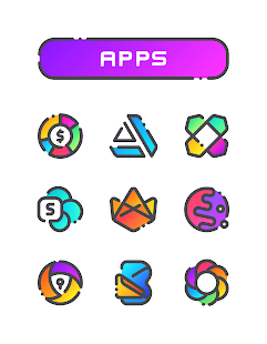 GRADION - Icon Pack Screenshot