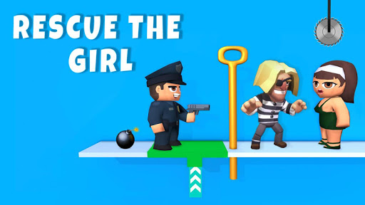 Pin pull puzzle games - Save the girl free games 1.10 screenshots 1