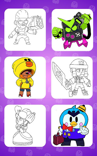 Coloring for Brawl Stars 0.27 screenshots 8