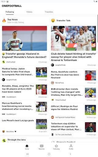 OneFootball - Soccer News, Scores & Stats  screenshots 8
