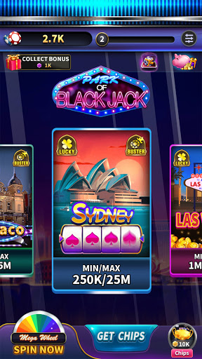 BlackJack 21 - blackjack free offline games 1.5.2 screenshots 1