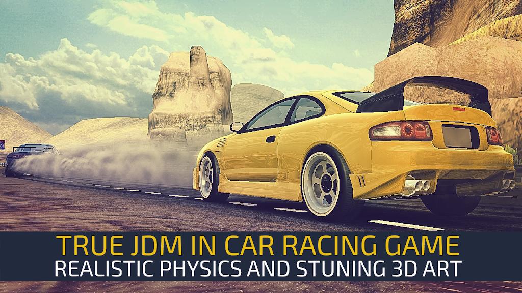 JDM Racing: Drag & Drift online races  poster 1