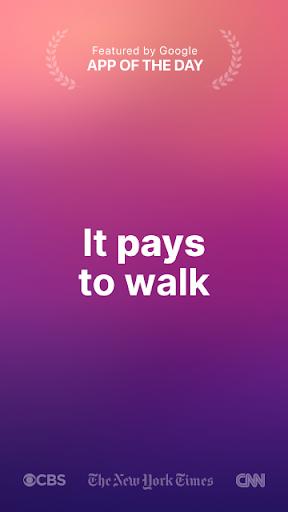 Sweatcoin — Walking step counter & tracker  screenshots 1