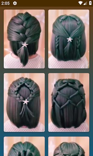 Hairstyles for short hair  Screenshots 4