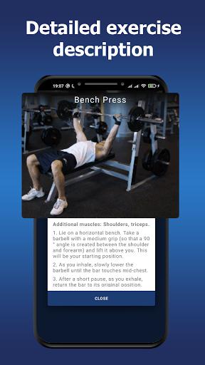 Gym workouts - Training programs.  screenshots 6