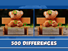 Find the Difference - 500 Differences