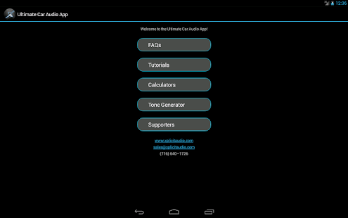 Ultimate Car Audio App (FREE)