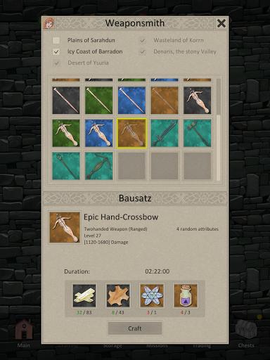 Heroes and Merchants RPG apkslow screenshots 13