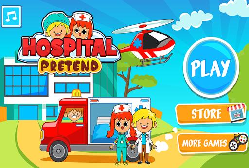 My Pretend Hospital - Kids Hospital Town Life apkpoly screenshots 5