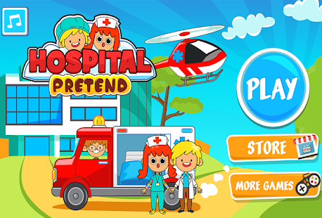 My Pretend Hospital - Kids Hospital Town Life 2.1 Screenshots 5