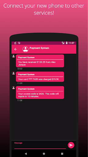 AntiPhone -Anonymous SMS 3.2.19 Screenshots 3