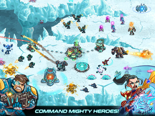 Iron Marines: RTS Offline Real Time Strategy Game 1.6.3 screenshots 10